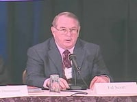 Ed Scott at the Global Philanthropy Forum 2006