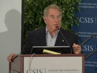 Ed Scott at the CSIS Global Health Policy Center Launch Event