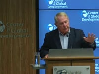 Larry Summers on International Institutions at CGD
